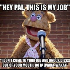 I would soooo love to say this! Very Funny, Funny As Hell, The Funny, Funny Shit, Funny Stuff, Work Jokes, Work Humor, Sesame Street Memes, Cartoon Jokes