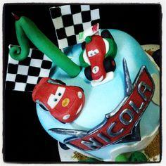 #cars Torte Artistiche per qualsiasi evento della pasticceria La Mimosa di http://www.simocakedesigner.it