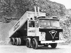 Dump Trucks, Cool Trucks, Big Trucks, Old Lorries, Postwar, Vintage Trucks, Classic Trucks, Buses, Transportation