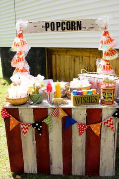 Kennedy's Vintage Circus 2nd Birthday Party - Project Nursery
