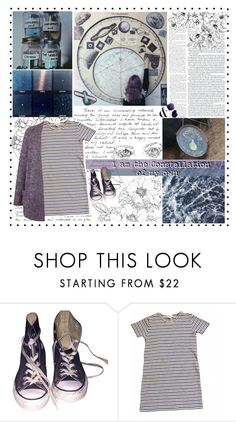 """""""Just Another Star in the Sky (Read D)"""" by ritaflagy ❤ liked on Polyvore featuring Converse and Topshop"""