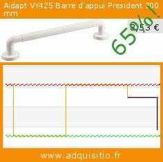 Aidapt VY425 Barre d'appui President 300 mm (Beauté et hygiène). Réduction de 65%! Prix actuel 8,53 €, l'ancien prix était de 24,51 €. https://www.adquisitio.fr/aidapt/12-pr%C3%A9sident-grab-bar