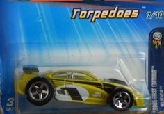 HOT WHEELS 2005 FIRST EDITIONS TORPEDOES #7/10 SLIDER  FREE SHIPPING!!