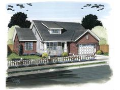 Eplans Traditional House Plan - Affordable Charm - 1919 Square Feet and 3 Bedrooms from Eplans - House Plan Code HWEPL69568-Occam's Razor: The traditional house