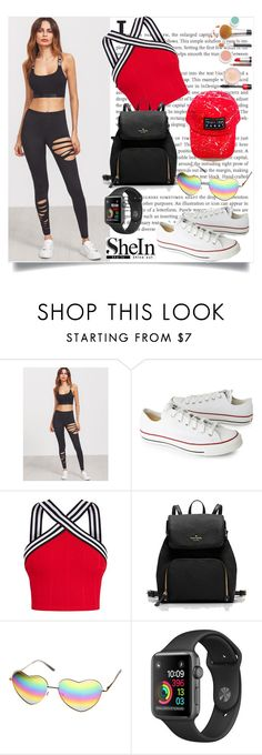 """shein"" by perfex ❤ liked on Polyvore featuring Converse"