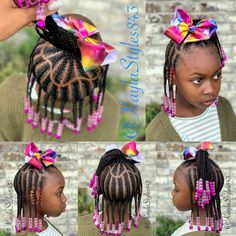 Hairstyles braids L'image contient peut-être : 3 personnes, texte A imagem pode conter: 3 pessoas, texto Toddler Braided Hairstyles, Toddler Braids, Lil Girl Hairstyles, Black Kids Hairstyles, Braids For Kids, Girls Braids, Children Braids, Little Girl Braid Styles, Kid Braid Styles