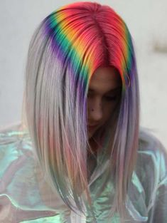 Incredible prism root hair colors ideas for women to choose in 2018. Here you can see our recommended techniques of hair colors for rainbow and prism highlights for elegance and attractive hair looks. According to the hairstylist of the world this is one of the best ideas of hair colors for long and medium haircuts.