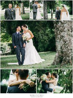 Nyk + Cali, Wedding Photographers   Nashville, TN   First Look   Bride + Groom