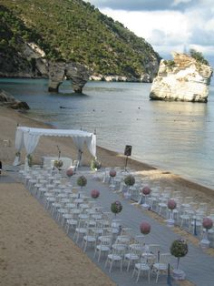 beach wedding ceremony   #beachwedding #italydestinationwedding