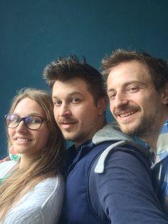 Це ми) Данута, Віталік і Юра