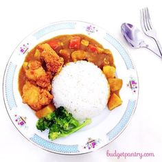 Easy Japanese Curry http://budgetpantry.com/easy-japanese-curry/
