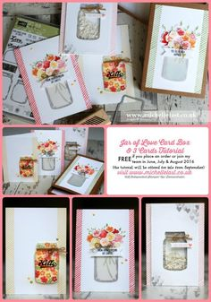 Jar of Love from Stampin' Up! – FREE tutorial!