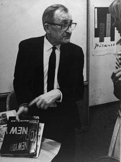 The very chic Alexei Brodovitch, Art Director c.1960s