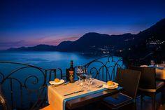 Ristorante Tramonto d'Oro - Romantic restaurant with breathtaking views of the Amalfi Coast