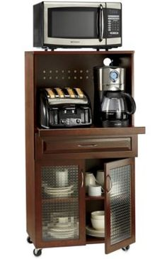 i really love having the availabilty of 3 appliances like this....and instead of having coffee cups in cabinet, can put then in the under cabinet! more room for food