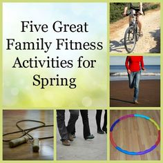 5 Great Family Fitness Activities for Spring
