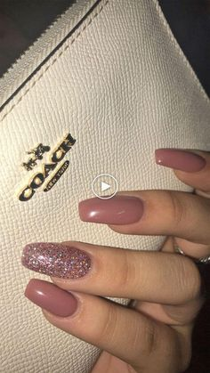 >>>Visit>> 59 Beautiful Nail Art Design To Try This Season - long coffin nails glitter nails mixmatched nail art nail colors mauve nails nail polis nude nails Coffin Nails Glitter, Coffin Nails Long, Best Acrylic Nails, Nude Nails With Glitter, Acrylic Nails Autumn, Long Gel Nails, Glitter Art, Pink Glitter, Short Nails