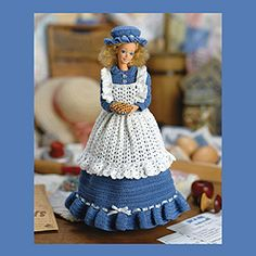 Barbie Country Dress for Fashion Doll Thread Crochet ePattern