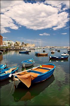 Port in Bari, Italy. Where My Mama Dukes is from. Can't wait to see you in September 2014!!