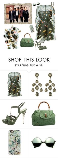 """""""~ One Direction ~ * Springtime * ~"""" by stylistic-1 ❤ liked on Polyvore featuring Valentino, Oscar de la Renta, Miu Miu, Casetify and Revo"""