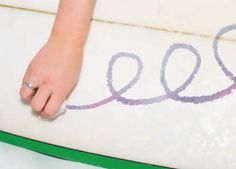Great tips for board care this summer, how to re-wax your board.