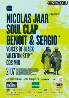 Galleries - The Mission : Nicolas Jaar ● Soul Clap ● Benoit & Sergio ● Voices of Black ● & more - Bucuresti Tonight