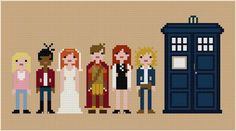 Rose, martha, Donna,  rory, amy, river
