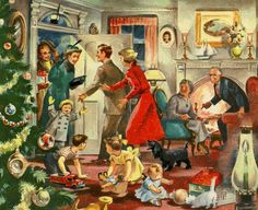 Lovely family christmas