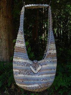 Knit Slouch Bag Pattern Free : 1000+ images about Bags - Crochet Slouch/Hobo on Pinterest ...