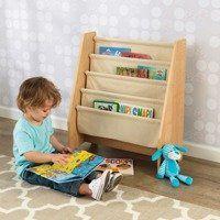 Book Racks, Bookshelves Kids, Bookcases, Mdf Frame, Wood Construction, Educational Toys, Little Ones, Playroom, Tela