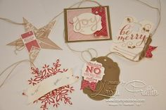 Stampin' Up! Christmas Gift Tag Class