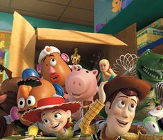 "John Lasseter will return to direct Pixar Animation Studios' ""Toy Story that Disney will release on June Tom Hanks and Tim Allen will reprise their roles as Woody and Buzz Lightyear. Walt Disney Co. Disney Pixar, Walt Disney, Disney Toys, Disney Magic, Film Pixar, Pixar Movies, Disney Movies, Disney Characters, Cartoon Movies"