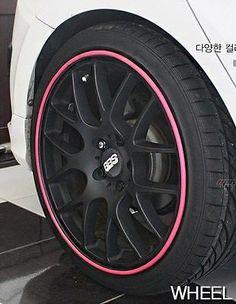 Rim Blade Wheel Protector Pink LF Sonata Avante Cerato Rio K3 Hyundai Kia