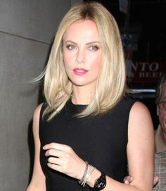 Charlize Theron Beautiful Cut #Hairstyles