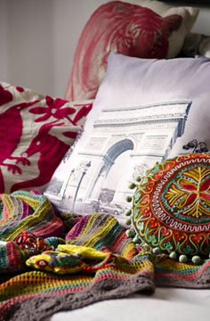 """This pillows are from our feature """"Mix & Match"""""""
