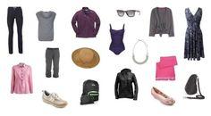 Wardrobe Capsule Retired Women | Women's Capsule Wardrobe for a Weekend Away | WhatToWearOnHoliday.com ...