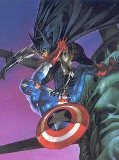 batman vs captain america