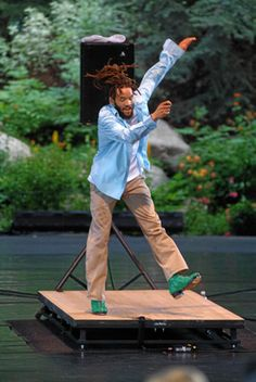Only the best tap dancer, ever.  Savion Glover!