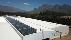 PERC Mono Solar Installation @ Stellenpak Cape Town South Africa, Solar Panel Installation, Solar Panel System, Solar Power, Outdoor Decor, Home, Design, Solar Energy, Ad Home