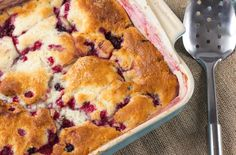 Old Fashion Berry Cobbler