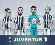 Squad ⚽ #juventus #juventusfc #buffon #gigi #dybala #dybala21 #higuain #bonucci #italy #football