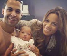 Celebaby: Rochelle and Marvin Humes Introduce Baby Alaia-Mai