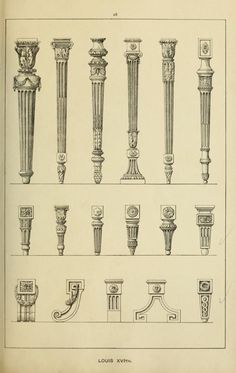 Elements of style in furniture and woodwork, be...