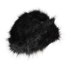 Ted Baker Womens Black Faux Fur Russian Style Hat ($78) ❤ liked on Polyvore