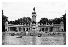 Fotografía blanco y negro Estanque veraniego por Gorringrafias, €30.00