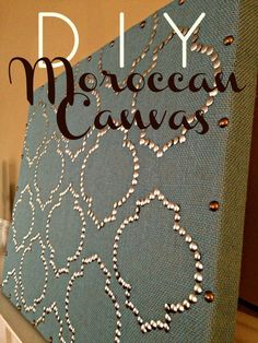 DIY Moroccan-Inspired Wall Art