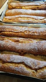 Bjørnemor...: Kaffekringle som i gamle dage... Mini Wedding Cakes, Mini Cakes, Danish Food, Pan Dulce, Baked Goods, Baking Recipes, Brunch, Food And Drink, Treats
