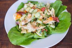 Frisse lunchsalade met kip en appel | Ohmyfoodness | Bloglovin'