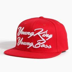 랩퍼 도끼(DOK2)가 발매한 곡의 가사와 제목으로 디자인한 브랜드 808 팔공팔 [808] Young King Young Boss Red