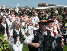 Morris dancers Jack in the Green Hastings West hill May 2013 South East England, Beltane, Proud Of Me, East Sussex, Dancers, Seaside, Green, Image, Beautiful
